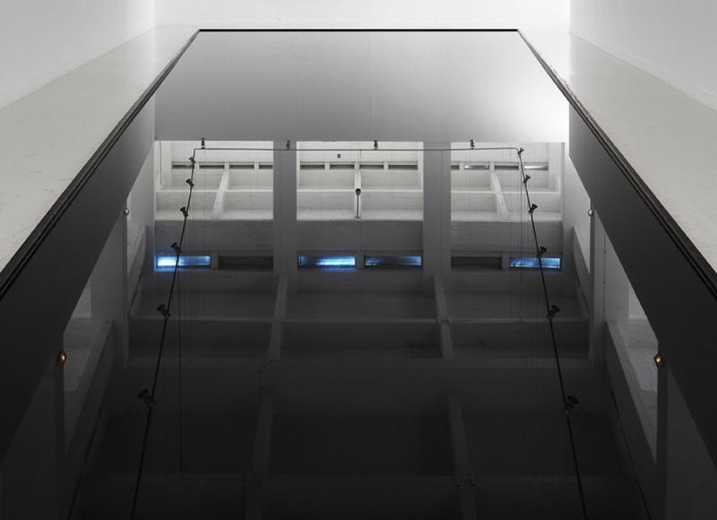 CAC Malaga, 2012 lambda print (oil room), cm 100x100