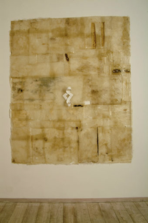 Fiore, 2005, olio, silicone e tela su vetroresina, cm 240x205
