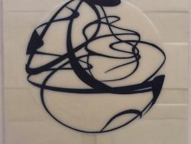Senza titolo, 2011, cera su fiberglass, cm 80x60