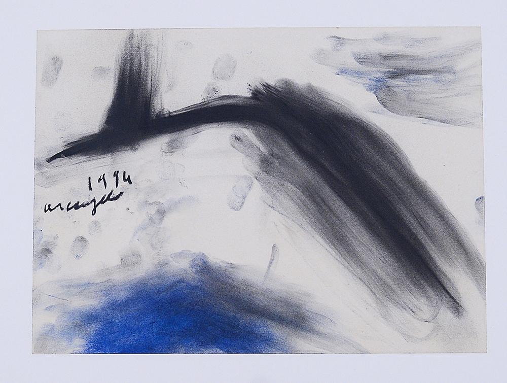 Senza titolo, 1994, tecnica mista su carta, cm 24x33