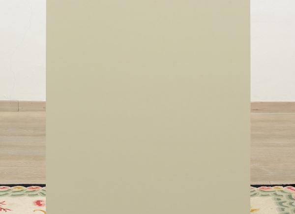 Lost Direction IV, 2016, alluminio, legno, cm 130x60x45