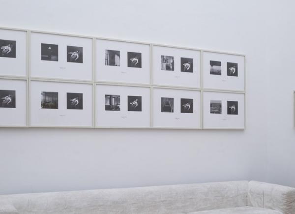 Some Day when my Longing is gone..., 1975/2016, fotografia in b/n, vetro, legno, 12 elementi di cm 44x62