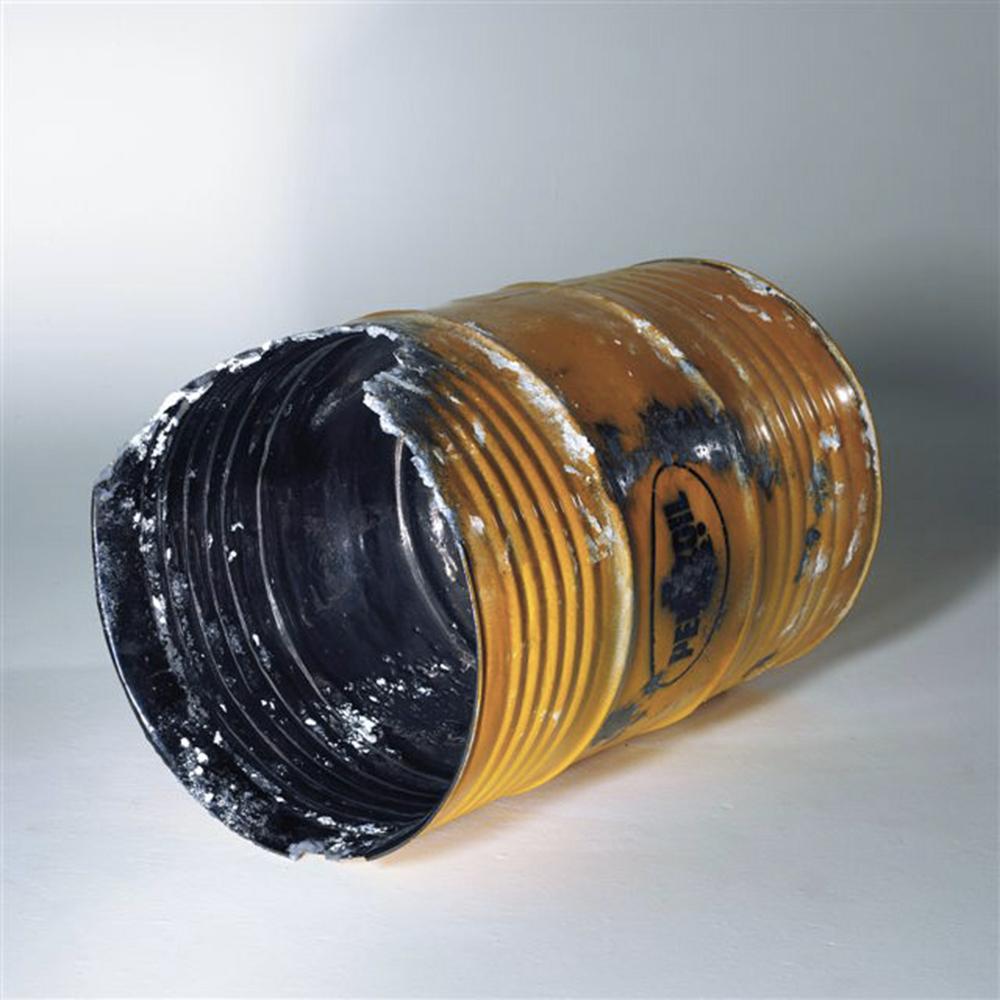Bertozzi&Casoni, Barile giallo, 2004, ceramica policroma, cm 54x83x54
