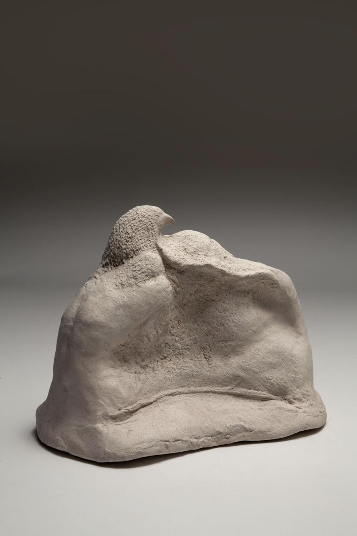 Andrea Fogli, Notte bianca XI, 2012, terracotta, cm 20,5x25x15