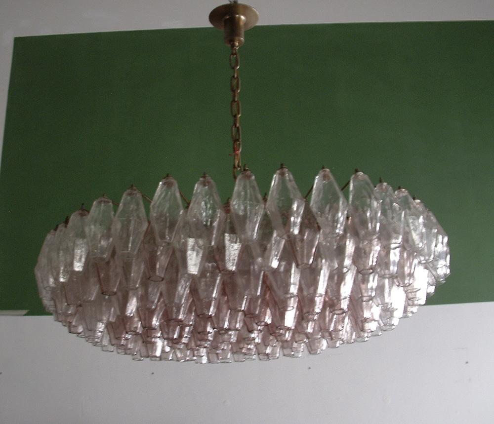 otto gallery lampadario poliedri scarpa