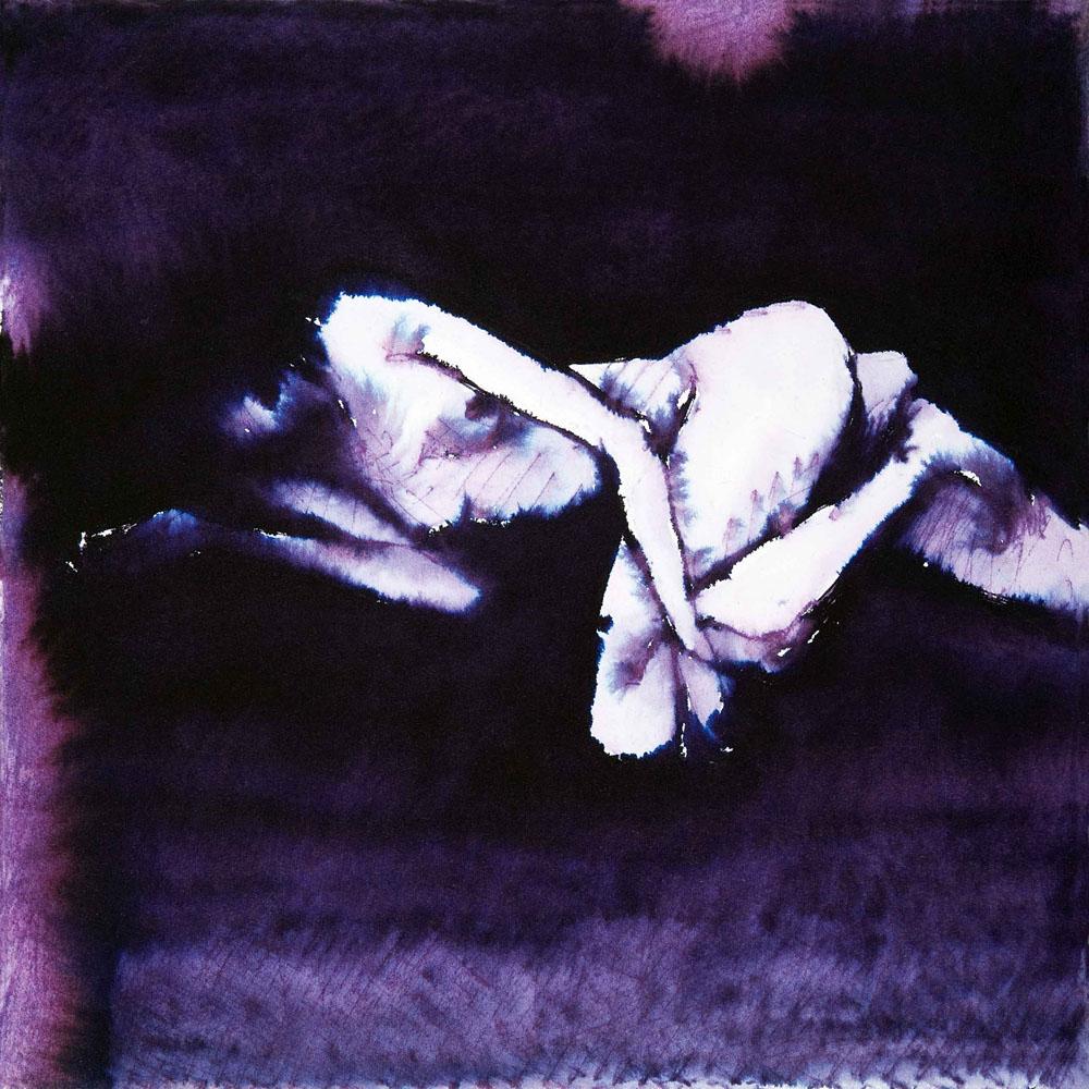 Ecate 18, 2009, inchiostro su carta, cm 25,5x25,5