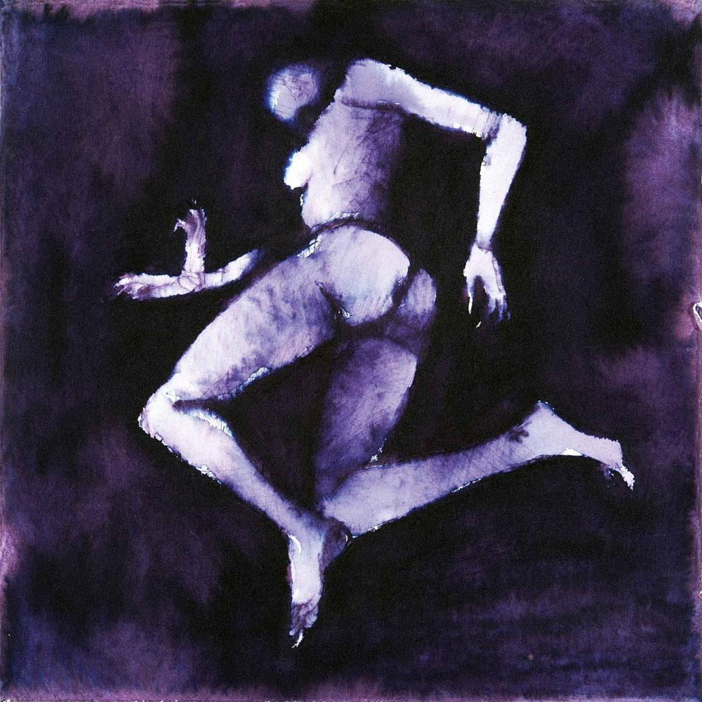 Ecate 7, 2009, inchiostro su carta, cm 25,5x25,5