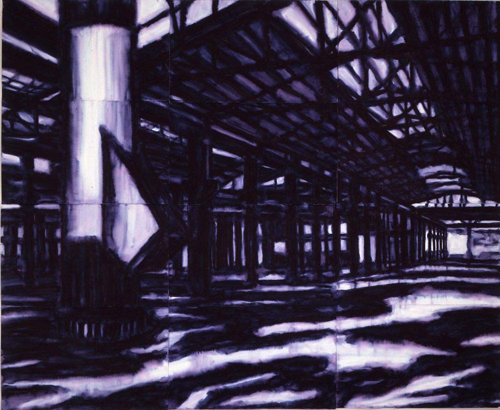 Harmaghedon, 1997, inchiostro su carta, cm 240x300