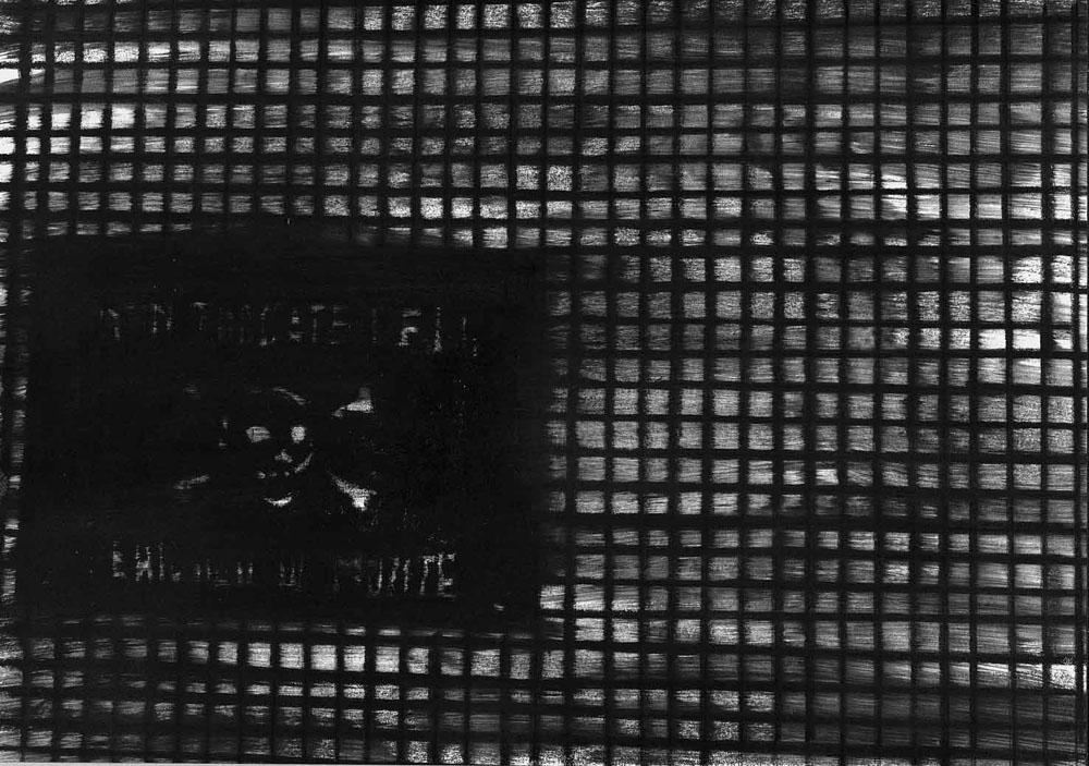 TD23, 2005, pastello su carta, cm 30x42