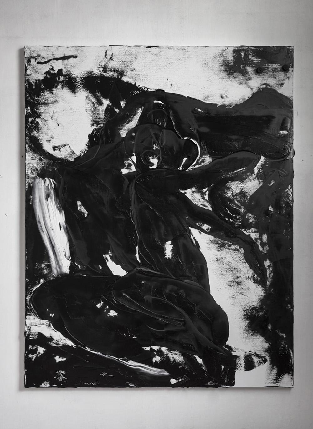 Conversation piece XI, 2017, olio su tela, cm 230x180
