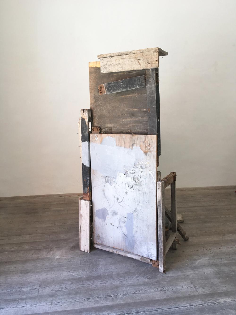 Daniele Gagliardi, Assoluto e segno, 2018, installazione dimensioni ambiente