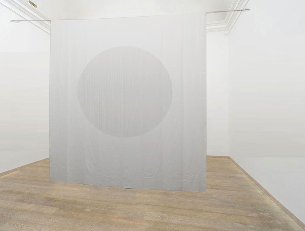 O, 2018, tela, cm 370x280 - sala II