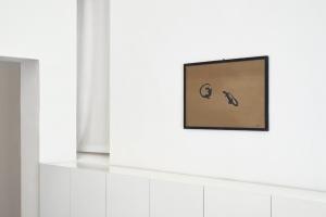 Pizzi Cannella, Senza titolo (lucertole), 1984, olio su faesite, cm 52x75