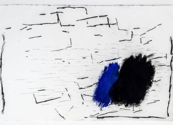 Senza titolo, 2004, tecnica mista su carta, cm 67x103