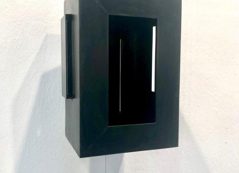 Quadro cupo, 1992, ferro, cm 30x20x22
