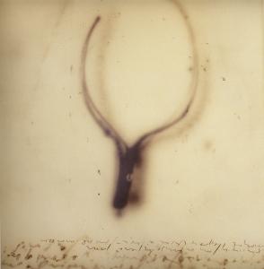 Quello che sembra. Sta a studio, 2004, tecnica mista su tela, cm 110x102