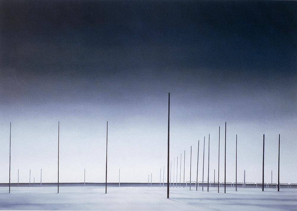 Fattore 8, 2002, olio su lino, cm 140x200