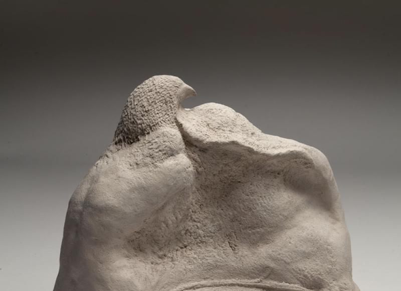 Notte bianca XI, 2012, terracotta, cm 20,5x25x15,5