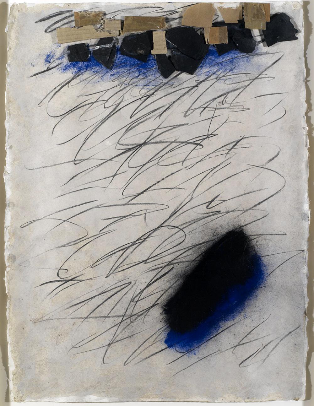 Senza titolo, 2005, tecnica mista su carta, cm 56x42