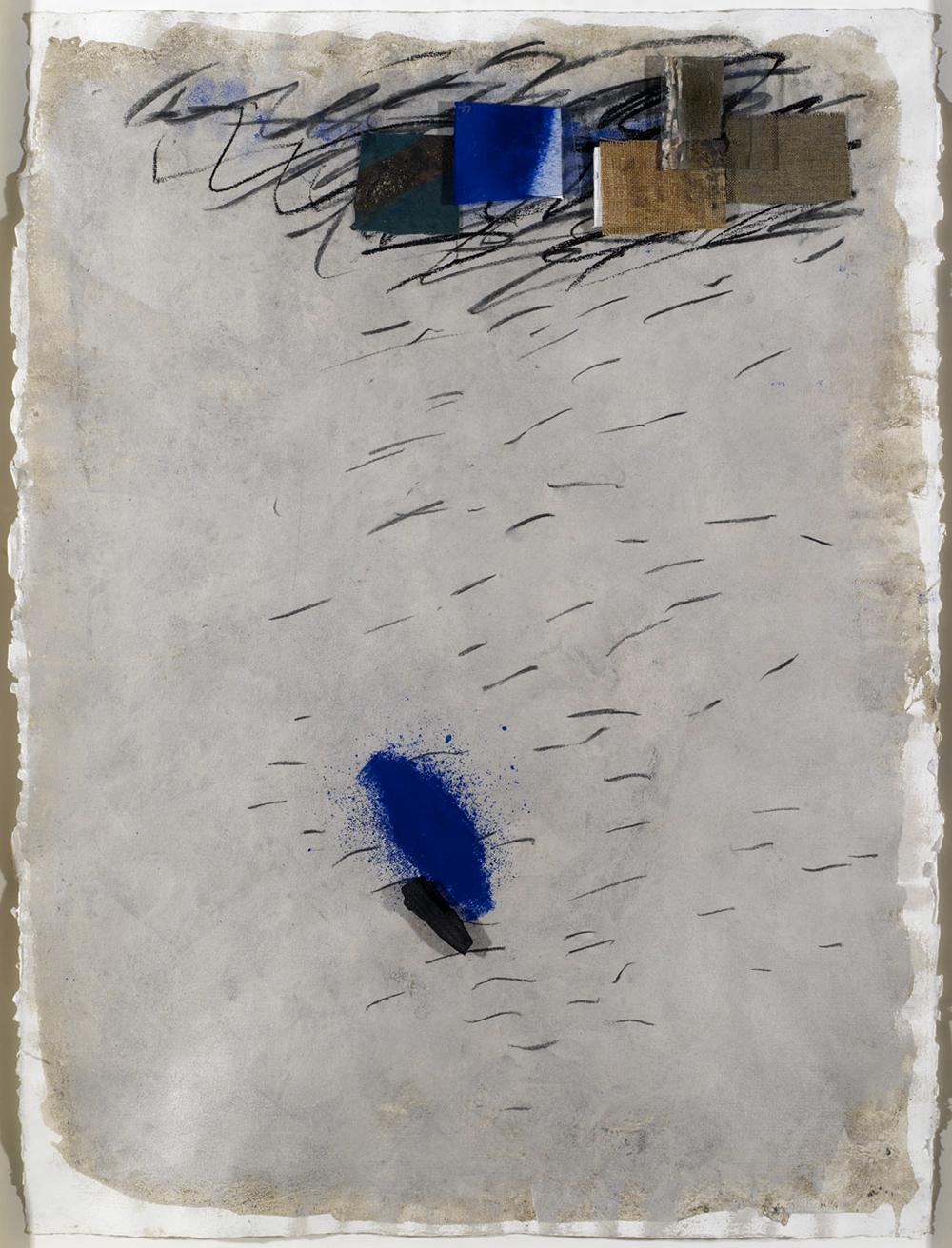 Senza titolo, 2005, tecnica mista su carta, cm 76x56