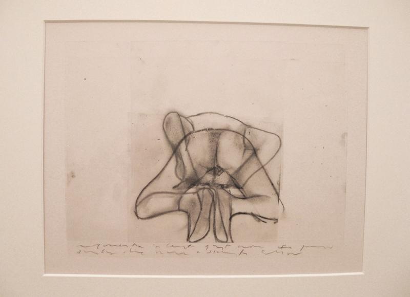 da Archivio Grande quaderno erotico 1994-2014, 2014, tecnica mista su acetati sovrapposti, cm 36,5x52