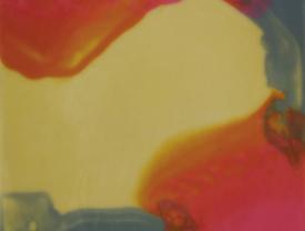 Grotto, 2011, encausto su tavola, cm 43x34