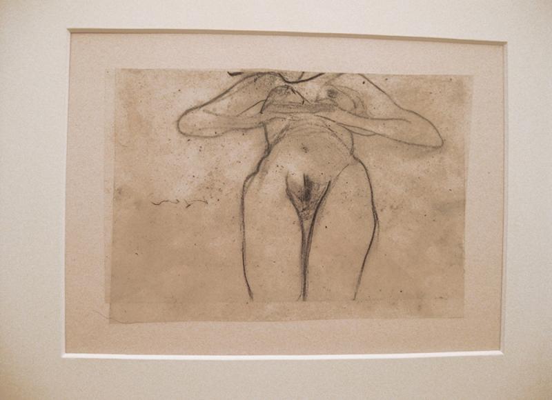 da Archivio Grande quaderno erotico 1994-2014, 2010, tecnica mista su acetati sovrapposti, cm 36,5x52