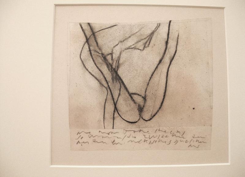 da Archivio Grande quaderno erotico 1994-2014, 1994-95, tecnica mista su acetati sovrapposti, cm 36,5x52