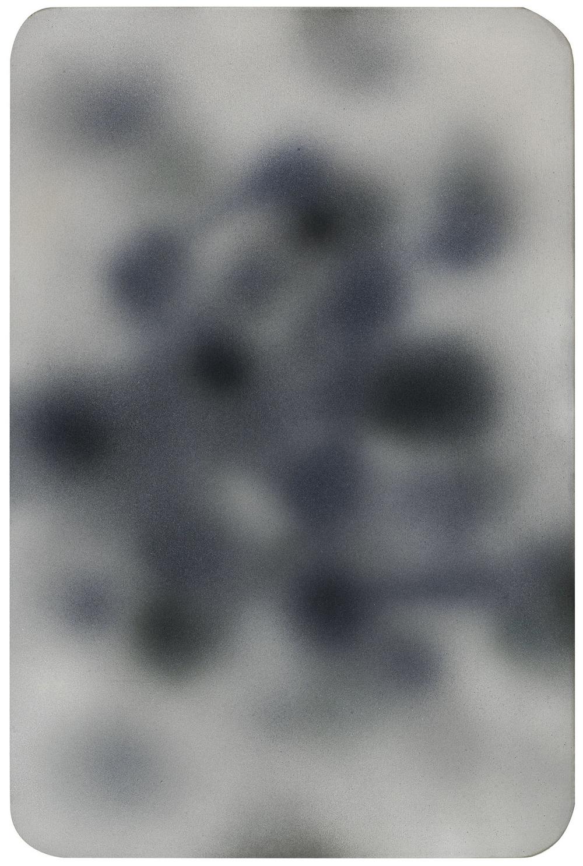 Ipnosi n. 3, 2006, tecnica mista su tela, cm 170x113