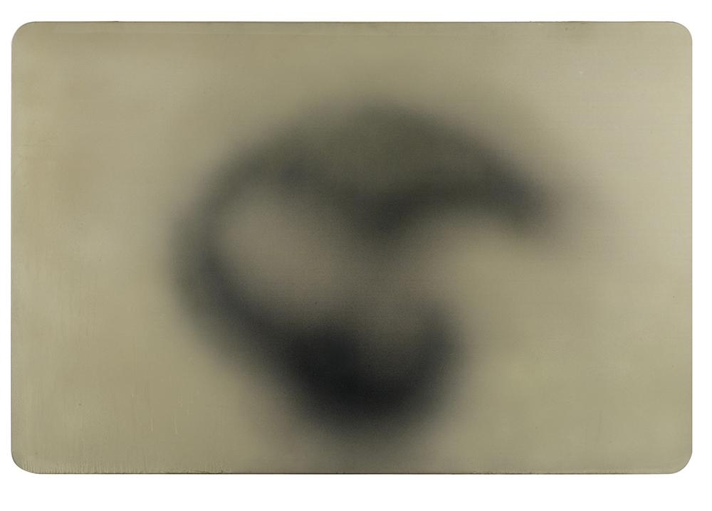 Ipnosi, 2006, tecnica mista su tela, cm 257x171