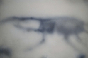 Ipnosi, 2006, tecnica mista su tela, cm 113x170