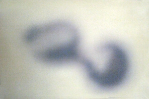 Ipnosi, 2006, tecnica mista su tela, cm 84x127