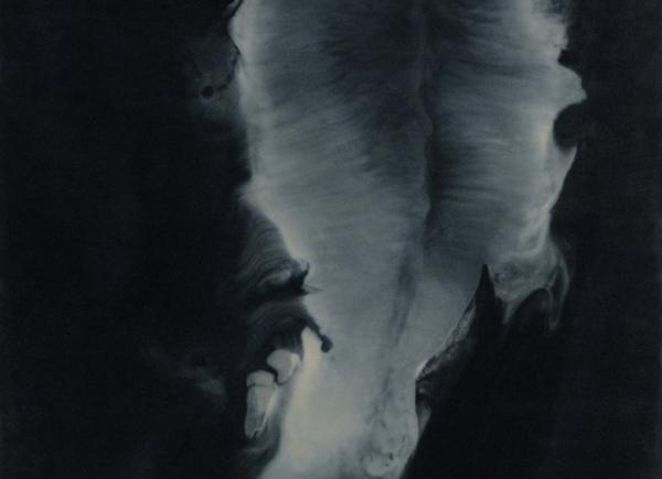 Opening, 2009, encausto su tavola, cm 43x34