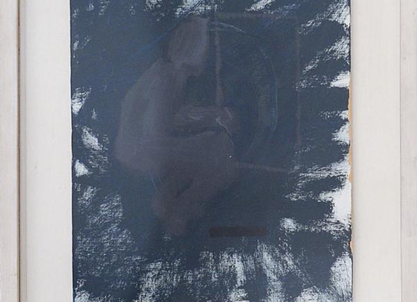 Senza titolo, 2009, tecnica mista su tela, cm 35x30