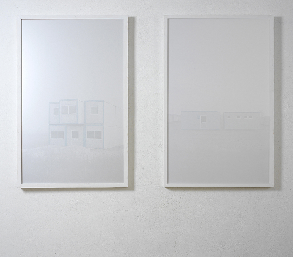 In Attesa, 2007 / 2008, stampa lambda su carta metal, cm 200x100