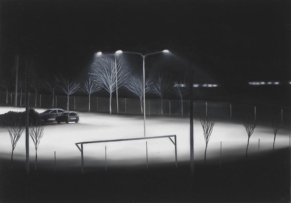 La Casa, 2004, olio su lino, cm 35x50