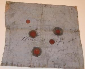 The lotus eaters, 2008, olio di papavero e pigmenti naturali su carta telata antica, cm 90x91
