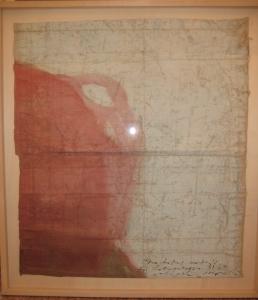 The lotus eaters, 2008, olio di papavero e pigmenti naturali su carta telata antica, cm 87,5x77