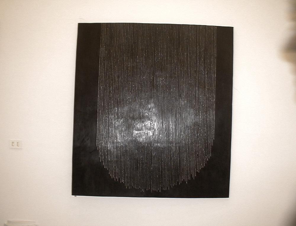 Senza titolo, 2002, bronzo e palladio, cm 150x120