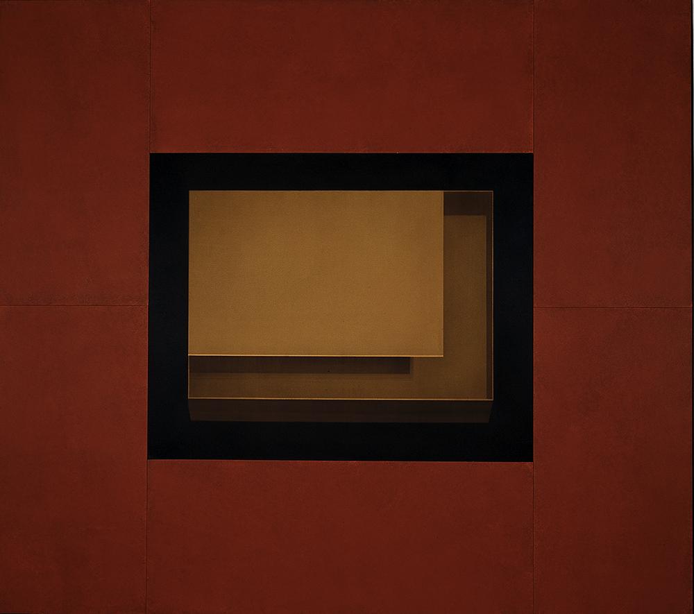Senza titolo, 2004, tecnica mista su tavola, cm 245x275