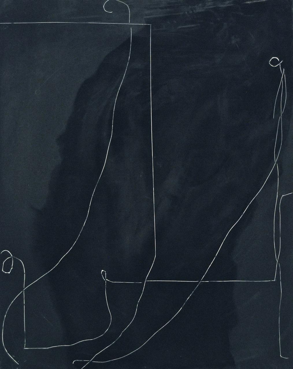 Peter Flaccus, Cradle, 2010, encausto su tavola, cm 43x34