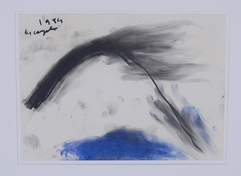 Senza titolo, 1994, tecnica mista su carta, cm 23x32