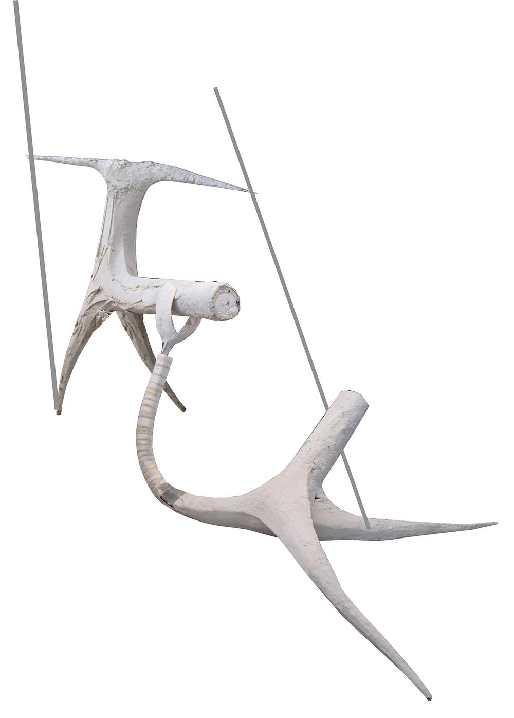 L'occhio di Narciso, 2009, scultura in lavorazione