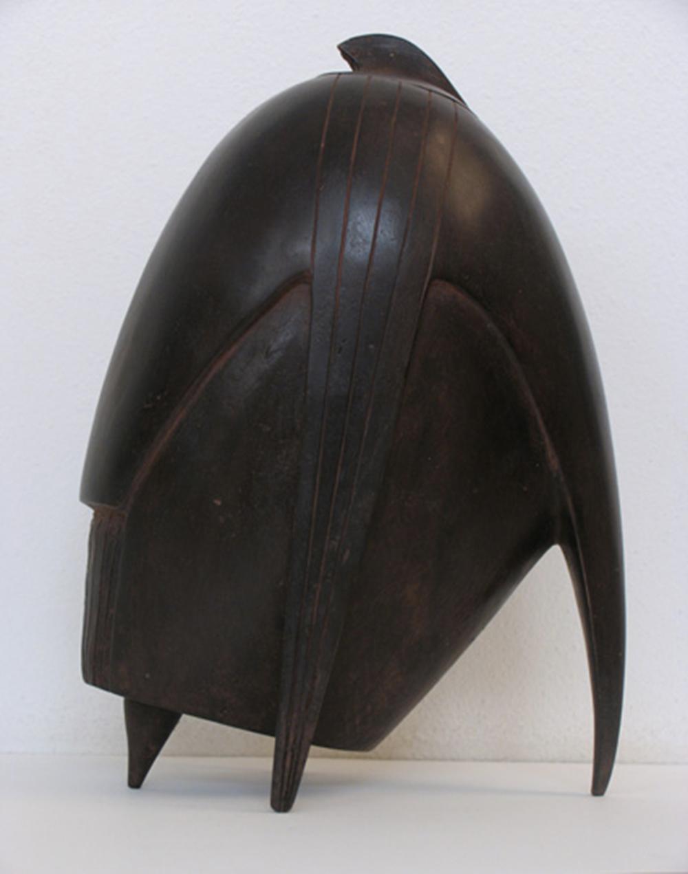 Tueio, 2006, bronzo, cm 22x32x15 circa