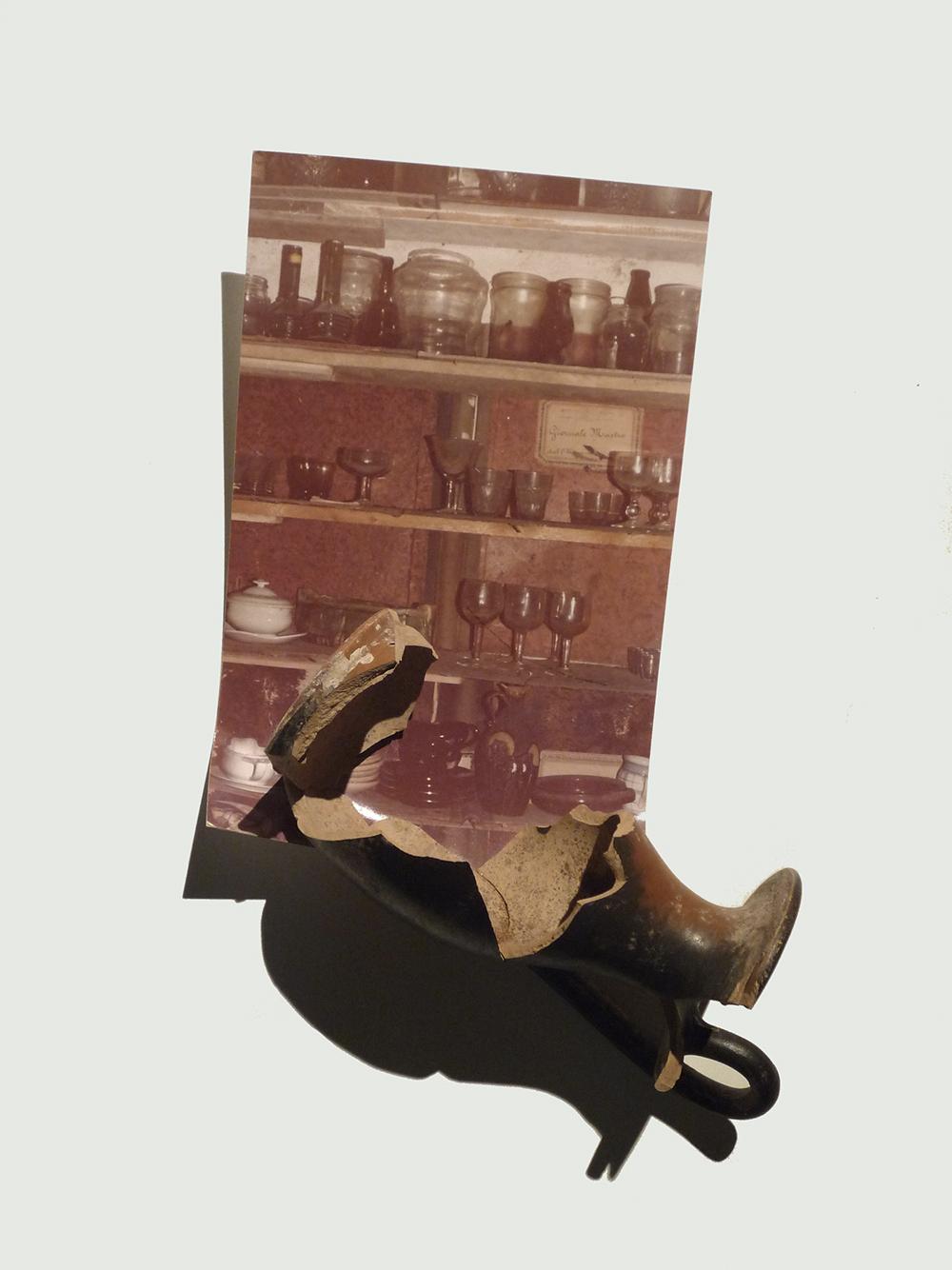 Antropologie, 1978, stampa originale e coccio, cm 26x17