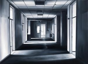 EKD 15, 2008, olio su tela di lino, cm 50x70