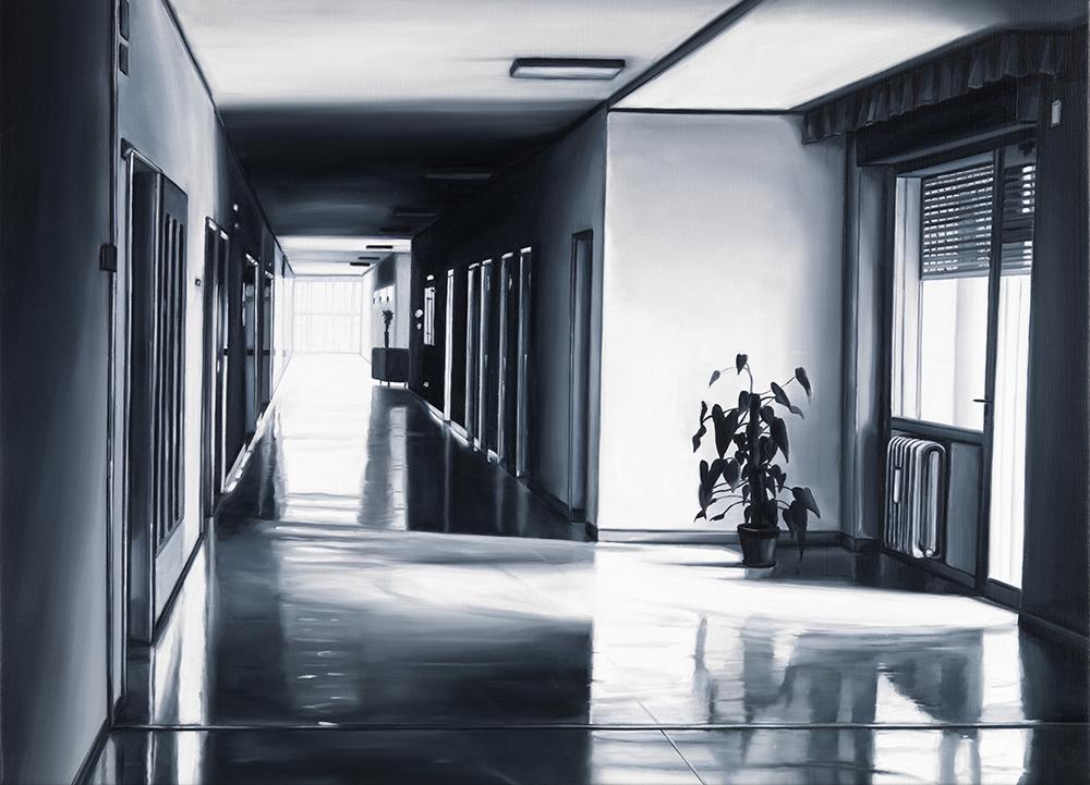 EKD 16, 2008, olio su tela di lino, cm 50x70