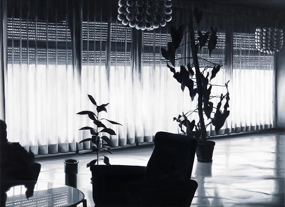 EKD 17, 2008, olio su tela di lino, cm 50x70