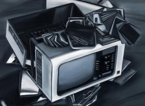 EKD 31, 2008, olio su tela di lino, cm 25x35