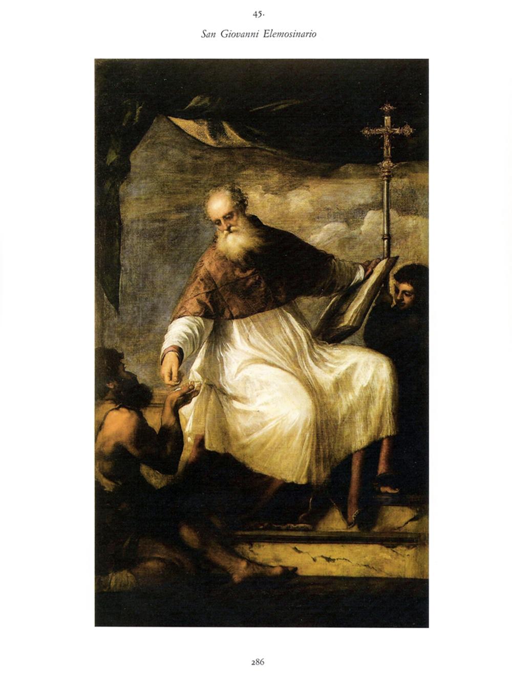 Andrea Facco, D'APRÈS TIZIANO – San Giovanni Elemosinario, 2011, acrilico su carta, cm 20,5x29,6